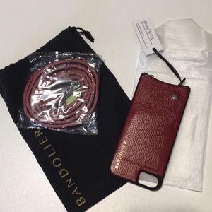New Bandolier Case iPhone 8/7/6 Crimson Sarah